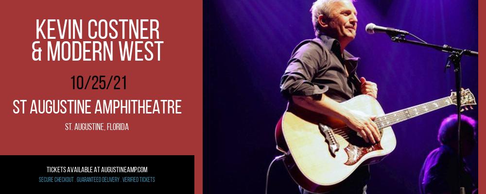 Kevin Costner & Modern West at St Augustine Amphitheatre